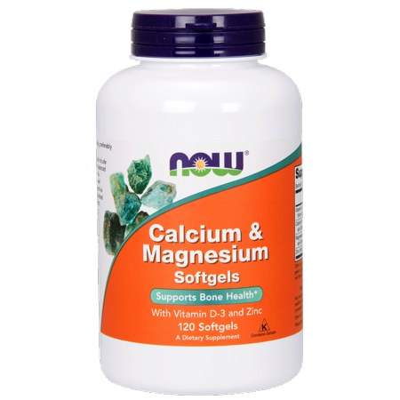 Calcium & Magnesium Softgels With Vitamin D and Zinc
