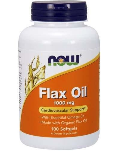 Organic Flax Oil Cardiovascular Support 1000 мг softgels